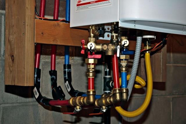 installation chauffe eau Remeha 24h/24
