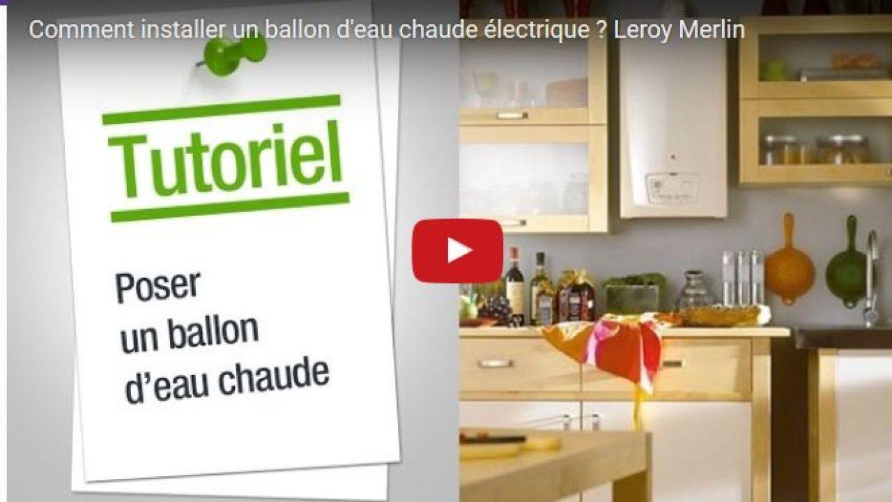 Installation Dun Ballon Deau Chaude Chauffagiste Agréé