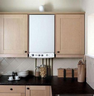 Placement de la chaudière dans la cuisine