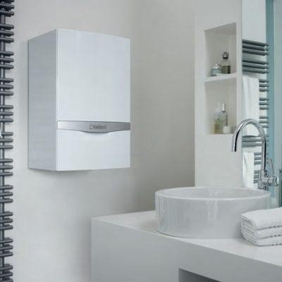 Installation chauffe eau dans la salle de bain