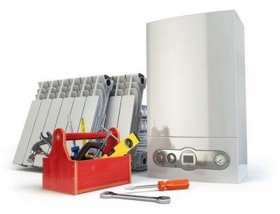 Schéma boite à outils pour réparation chaudière